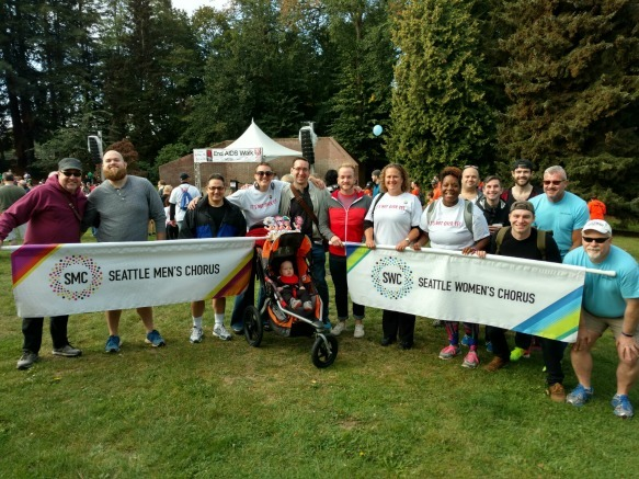 Support the Choruses in the 2019 Seattle AIDS Walk