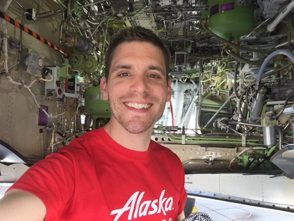 Alaska Airlines Fly with Pride 2017-2